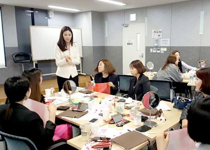 수강생 (LG생활건강 강의) 컨설턴트로 활약